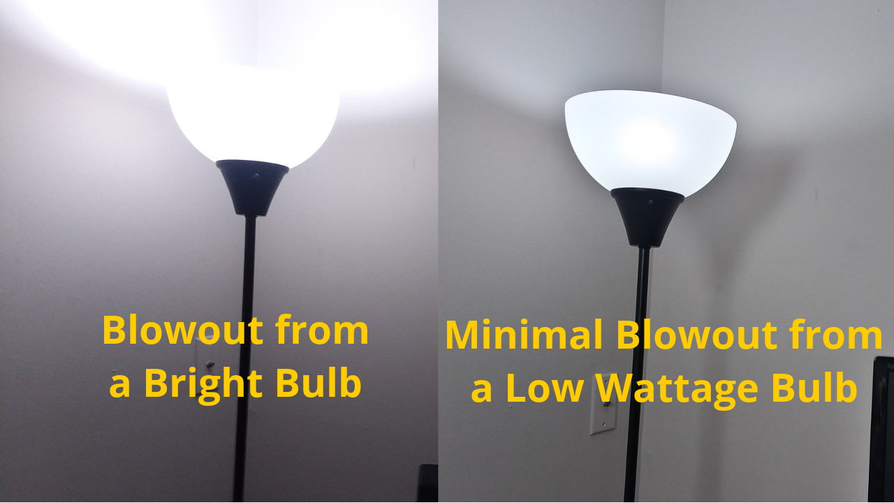 Blog Video Lighting - Avoid blowouts